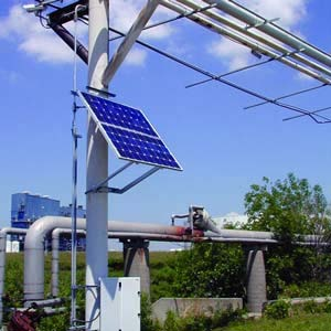 Solar Security Camer Power